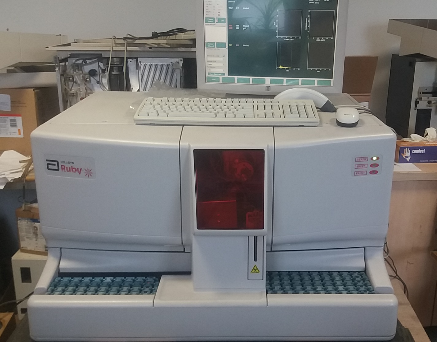 CELL-DYN RUBY – YOM 2008 ready to work! Used or REFURBISHED Sysmex